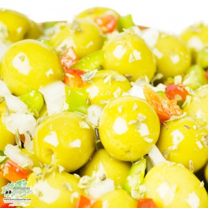 Aceitunas Delicias en Detalle