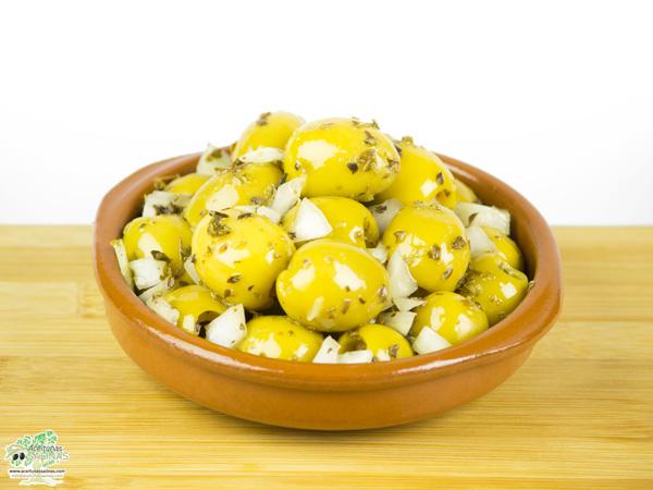 Aceitunas Murcianas tipo Gordal